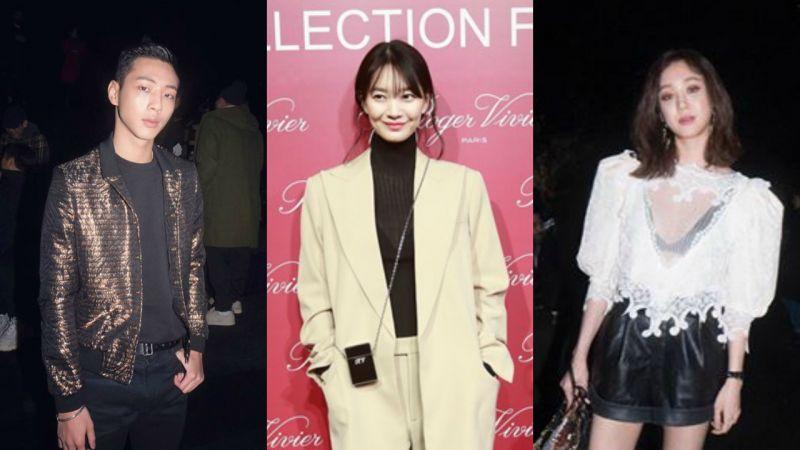 申敏兒、鄭麗媛、Jisoo亮相巴黎時裝周,型男熟女!