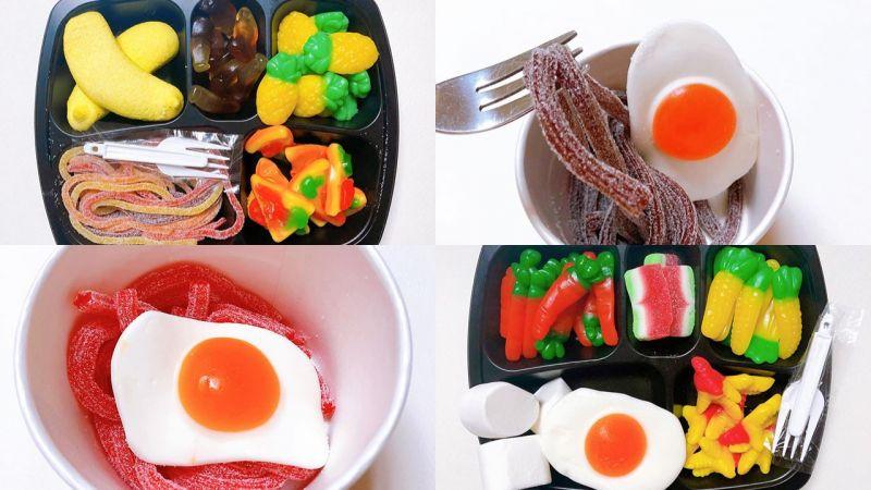软糖控必入!韩国CU推出「软糖便当」和「软糖拉面」