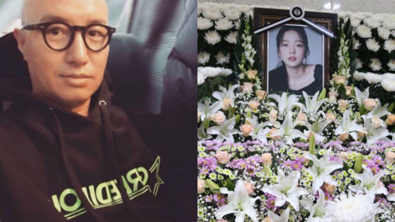 洪锡天在《听见传闻Show》表示:具荷拉亲妈在丧礼现身忙著找艺人开心合影全无悲伤!