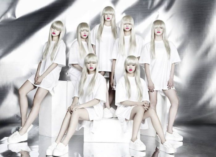 I.O.I小分隊回歸 變身白金髮少女們預告照公開