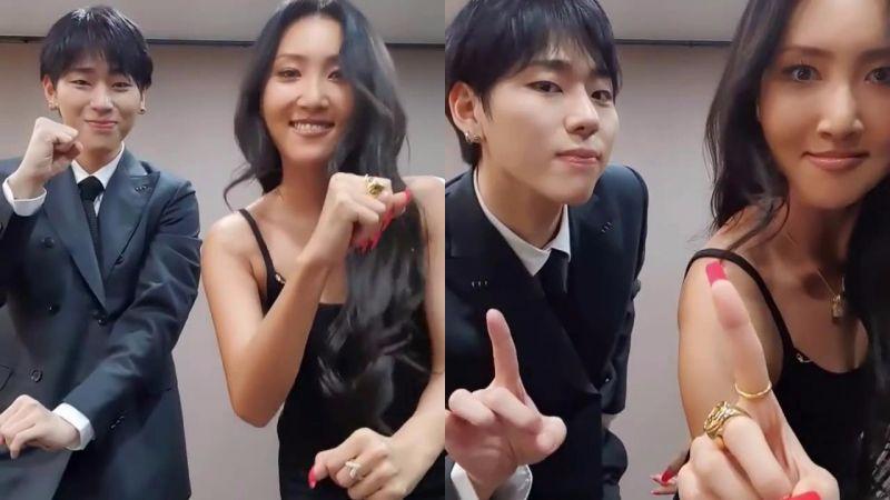 ZICO×華莎互動跳舞超有趣,發起Angsong Challenge宣傳新歌!
