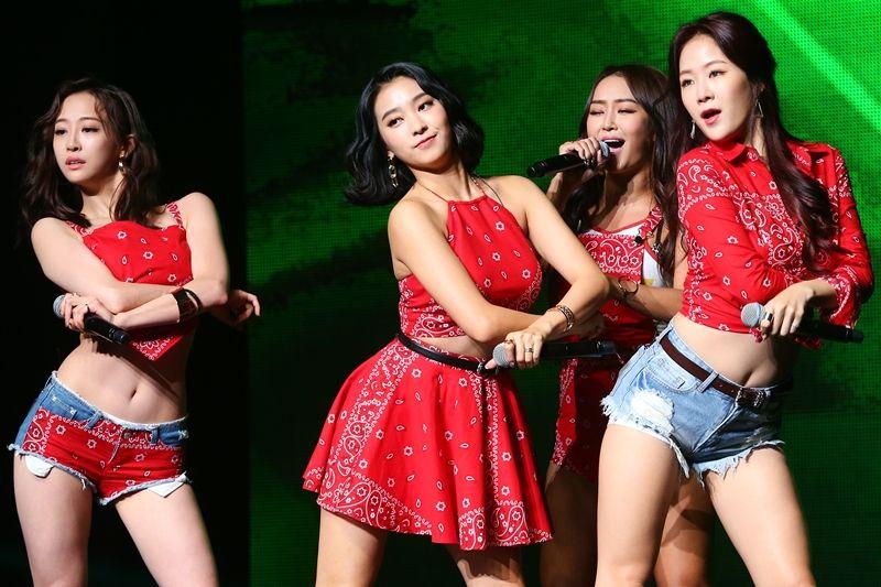 SISTAR在中國人氣火熱 新歌MV登QQ音樂冠軍寶座