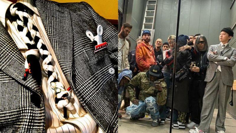 一直被模仿從未被超越的GD又來玩新時尚了!鞋帶變領帶,這主意絕了