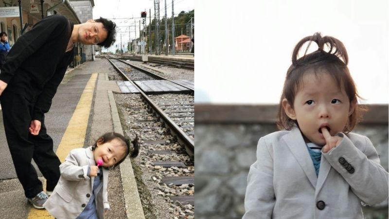 曾以真實情侶身份出演《我結》的鄭仁、趙正治公開女兒日常照!網友:「太可愛了」