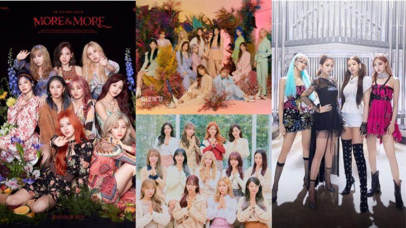 「夏日女團」大戰要來了!TWICE、BLACKPINK、IZ*ONE、宇宙少女等都將在6月回歸!