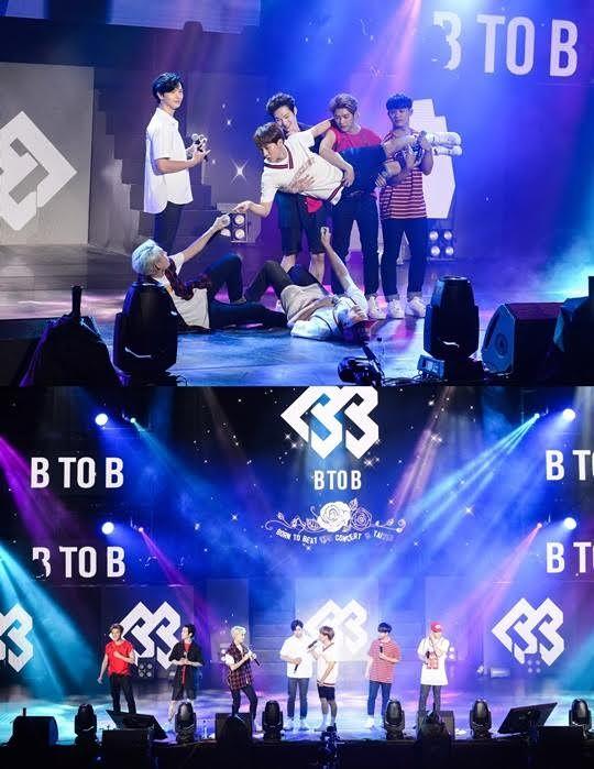 BTOB首次台灣開唱 三千粉絲熱情應援
