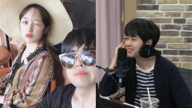 趙炳圭在電台提到與金寶拉甜甜的愛情!雖然不常通話但常見面,因為想她所以會去見她♥