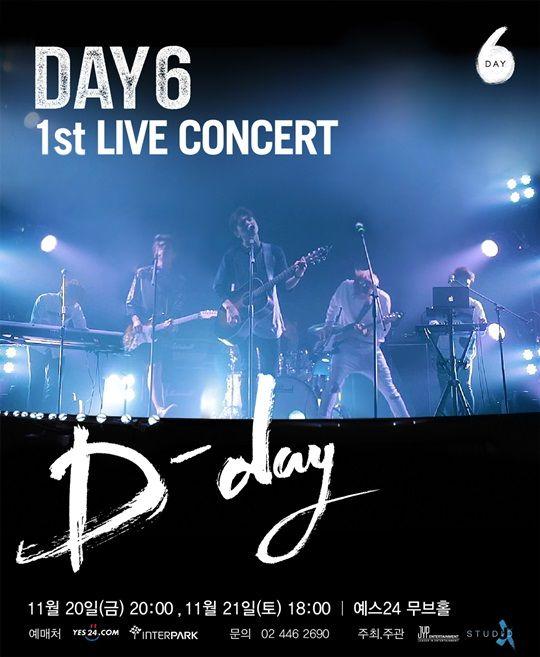 新人樂團DAY6首次國內演唱會  5分鐘內門票全數完售