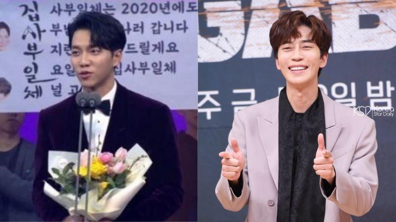 【2019 SBS演藝大賞】《家師父一體》李昇基感言提及的「新成員」…就是曾與他合作《VAGABOND》的申成祿!