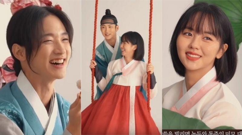 【有片】《綠豆傳》花絮:眾人紛紛被張東尹的美貌「驚豔」 他不滿:「不要說我漂亮!」