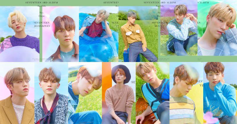 SEVENTEEN 概念照連發 新專輯搶先登銷量榜首!