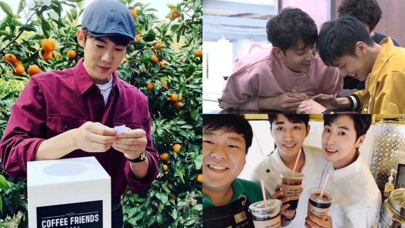 孙浩俊的「超级挚友」来啦!允浩参与《Coffee Friends》第2次节目录制,以兼职生的身份加入!