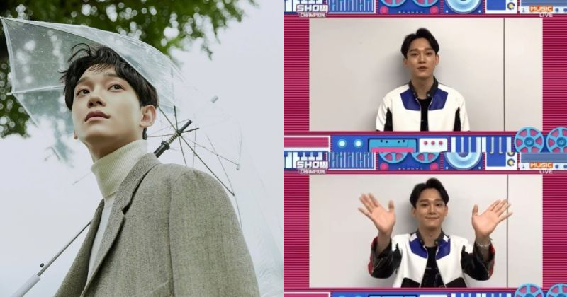 〈Dear my dear〉發行逾三週 Chen 再奪音樂節目冠軍!