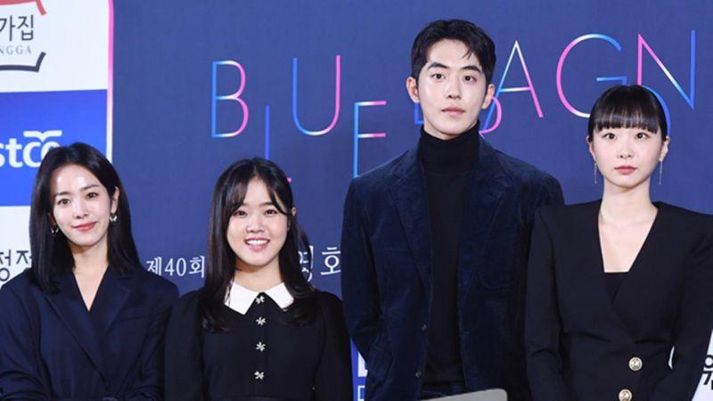 《耀眼》再合體!韓志旼、南柱赫、金香起出席青龍電影按手印活動