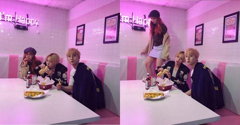 迷幻撩人! 泫雅公開Triple H新MV拍攝花絮