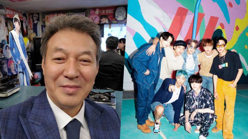 老演員金甲洙也是ARMY!加入BTS防彈少年團付費粉絲會,還PO自拍認證:「Jimin啊,你還記得我嗎」