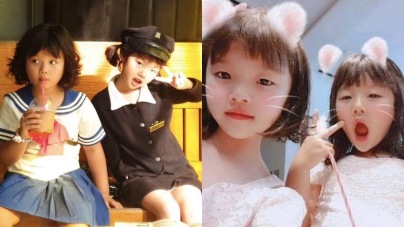 李同国8岁双胞胎女儿影片被骂到下架关评论!一切只因女孩太爱美?
