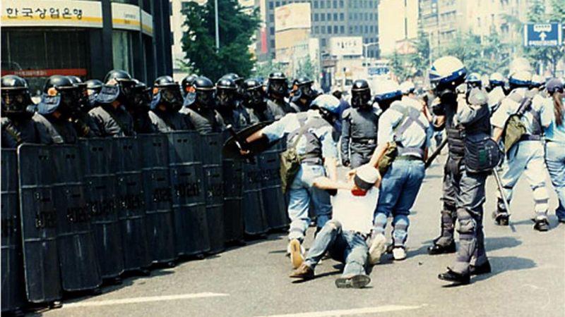 韓國的「白骨團」,警察體制外的「有牌流氓」