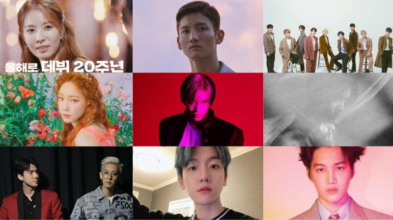 SM娛樂旗下歌手目前為止的2020年計畫:BoA & SJ分別迎來出道15 & 20週年、SUHO & 昌珉陸續SOLO出「輯」