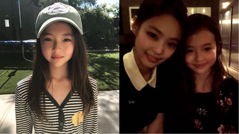 与YG旗下独立音乐品牌签约的知名童模Ella Gross!网友们都表示:「这根本是小Jennie!」