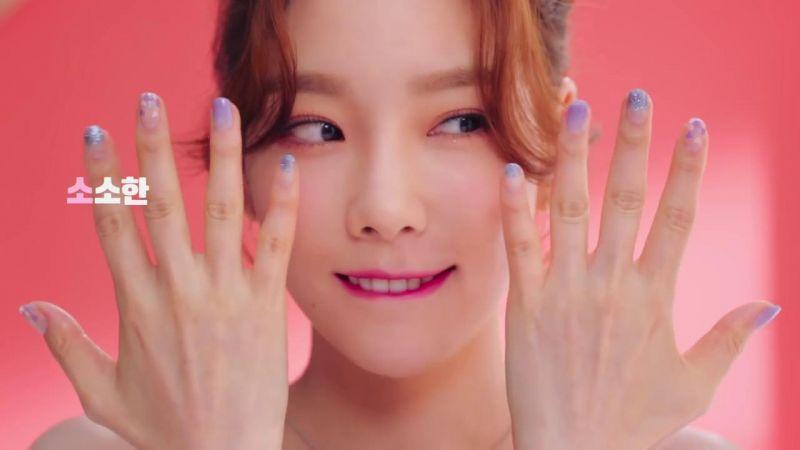 出道多年的少時太妍依然超級可愛清爽!