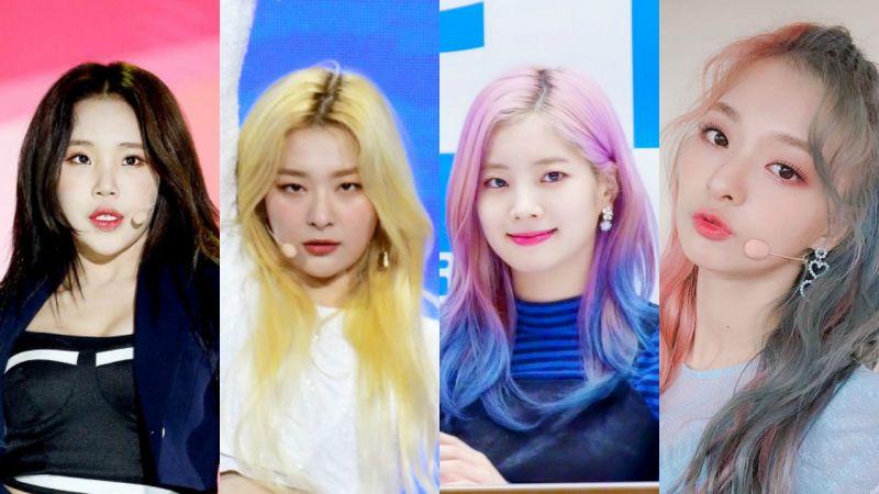 最近換了新髮型or新發色,刷新顏值的女愛豆們!