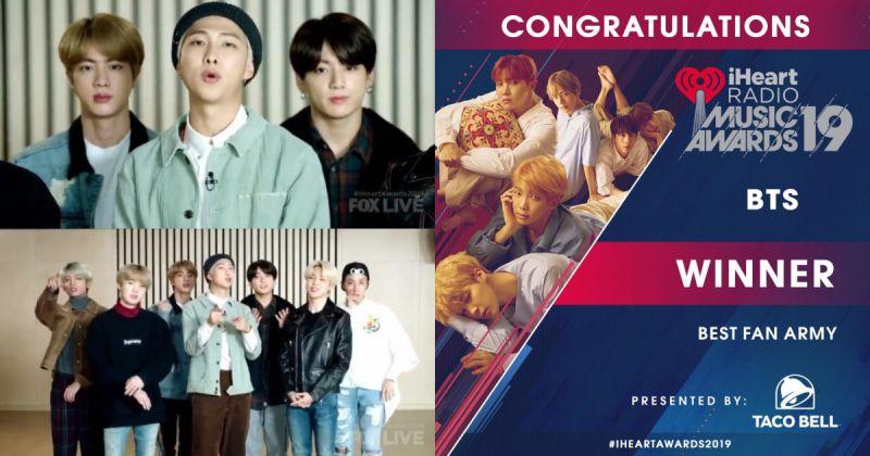 BTS防彈少年團美國人氣依舊:錄影片祝賀 Army 獲獎、新專輯奪 Amazon 預購冠軍