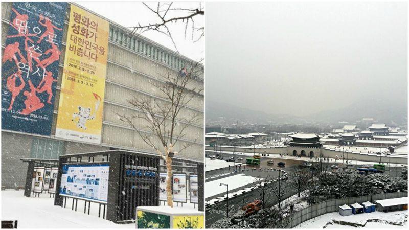 【首爾必玩】首爾夜景好去處:登上韓國歷史博物館頂樓,整幅景福宮全景盡收眼底!