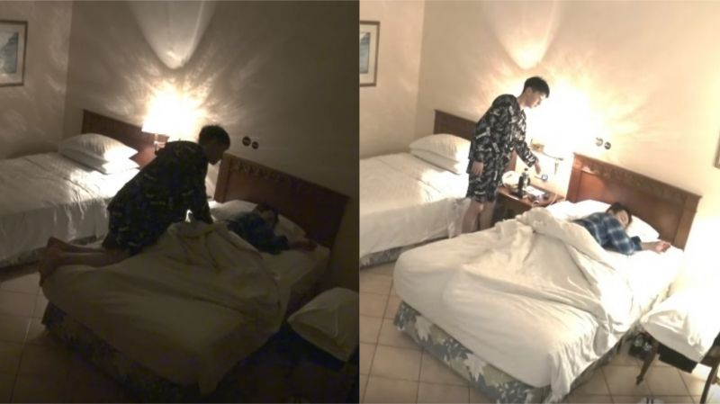 【有片】千嘱咐、万叮咛:「要等我,别先睡著了」结果东海抵挡不了睡意…银赫委屈:「我真的很伤心」