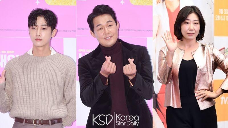 鄭振永、朴誠雄、羅美蘭錄製JTBC《認識的哥哥》!為新電影《我身體裡的那個傢伙》宣傳 1月5日播出