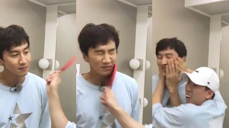 《Running Man》這個懲罰真的太痛了,好心疼被打的李光洙啊~!