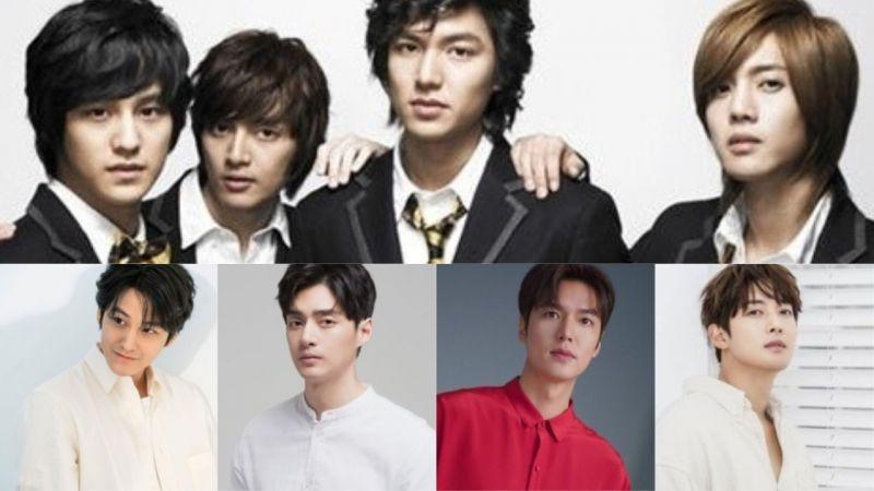 【回顾】韩国网友分享:「当时好像被催眠一样...陷入的电视剧《花样男子》」不少人当年也陷入F4的魅力里吧?