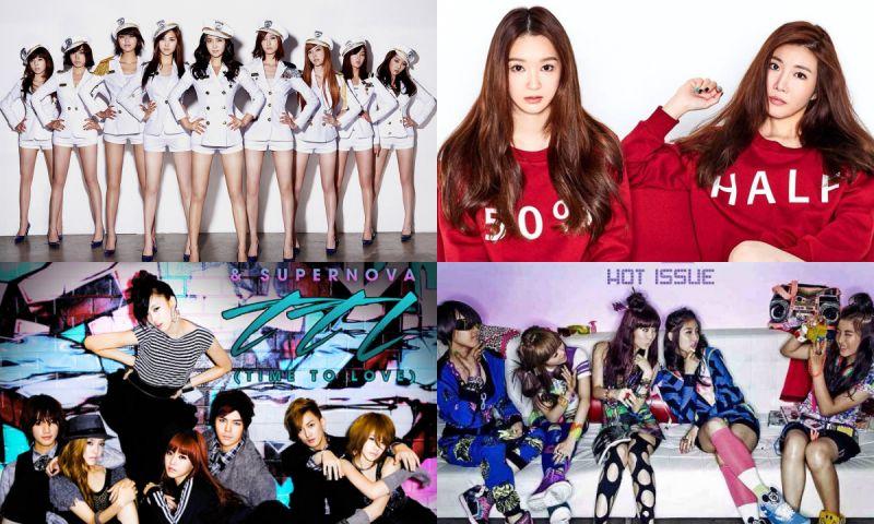 《8282》、《Mr.》、《Hot Issue》...这些K-POP经典歌曲竟然全是来自2009年! (下)