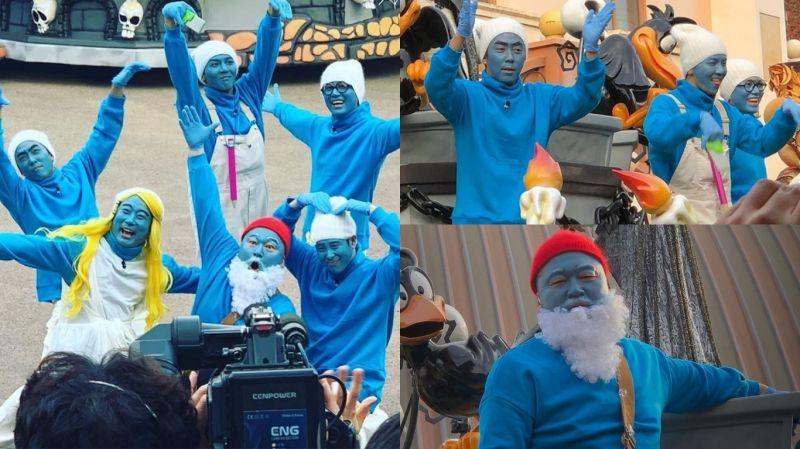 【有片】《新西游记7》新路透!历代级造型再加一 全员变为「蓝精灵」在爱宝乐园游行、跳舞