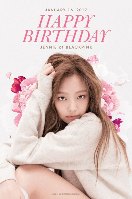 祝 Blackpink Jennie 生日快樂!