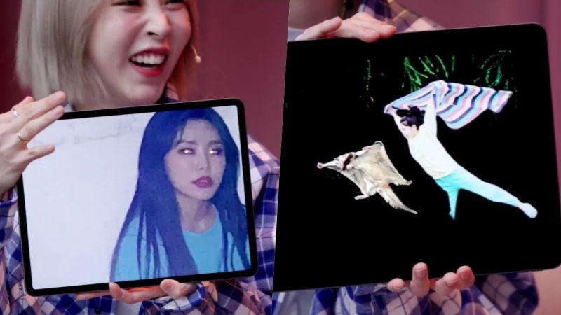 太有趣了吧!MAMAMOO手机里珍藏的成员照片大公开:辉人眼睛发光,Solar像鼯鼠一样飞翔
