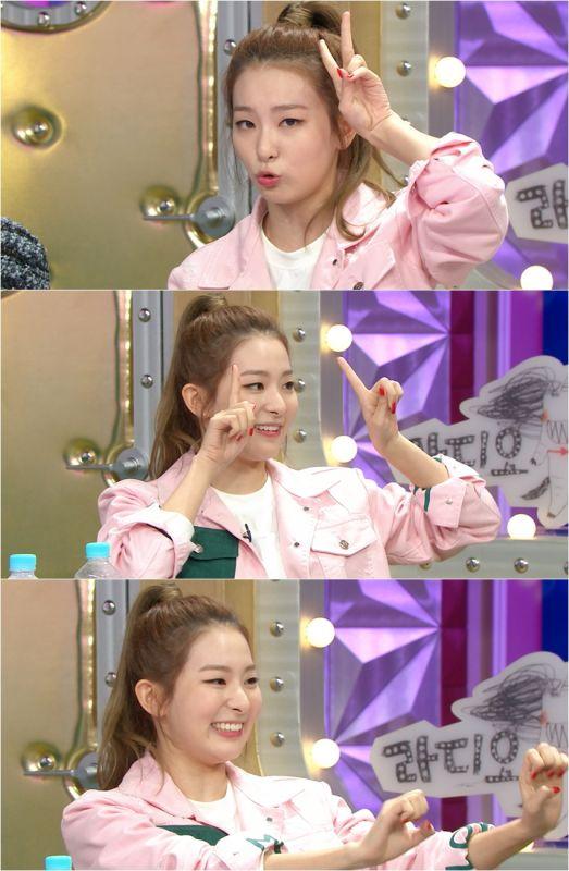 Red Velvet澀琪做客《Radio Star》 勉強撒嬌全力勁舞