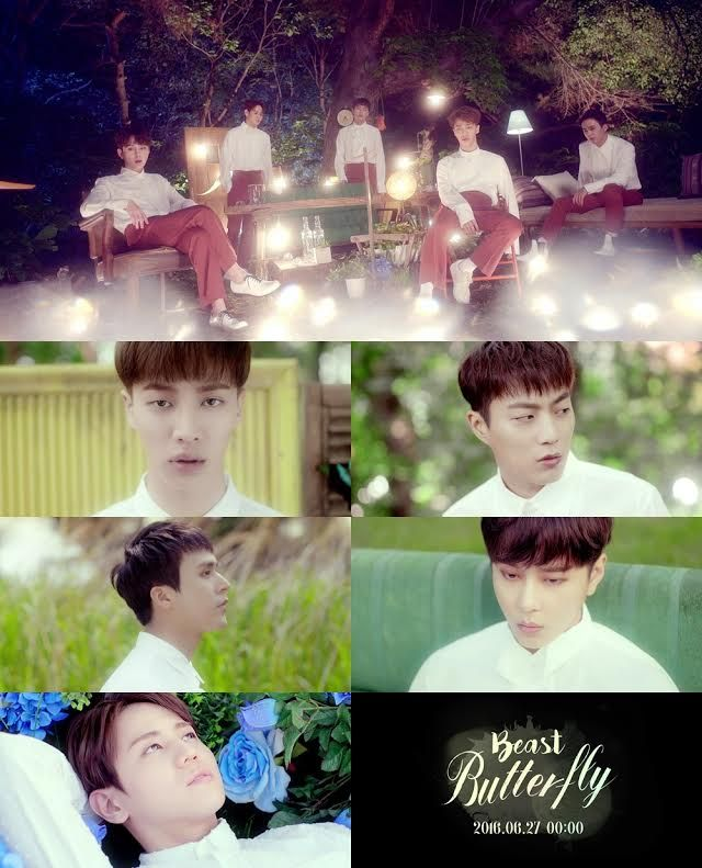 BEAST「感性idol」歸來 《Butterfly》MV預告片公開