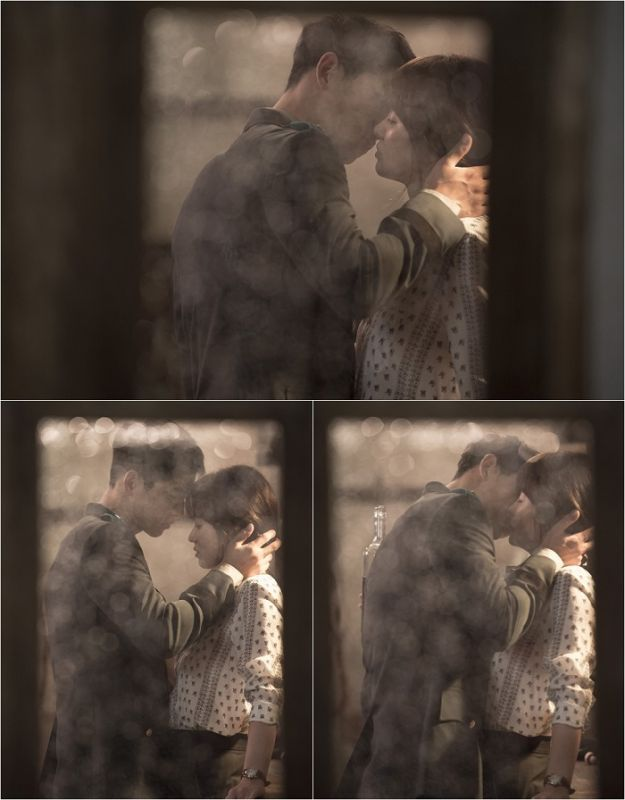 《太陽的後裔》宋慧喬宋仲基吻戲劇照心跳滿分
