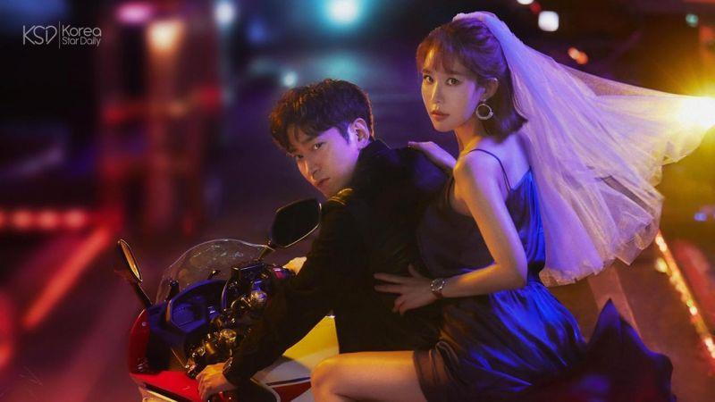 未開播CP感已爆棚的新劇《愛我的間諜》公開「文晸赫、劉寅娜」雙人海報!
