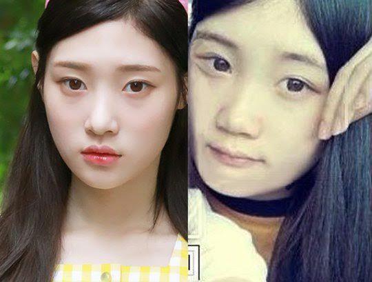 鄭采妍同學貼舊照力挺:她真的只做過鼻子