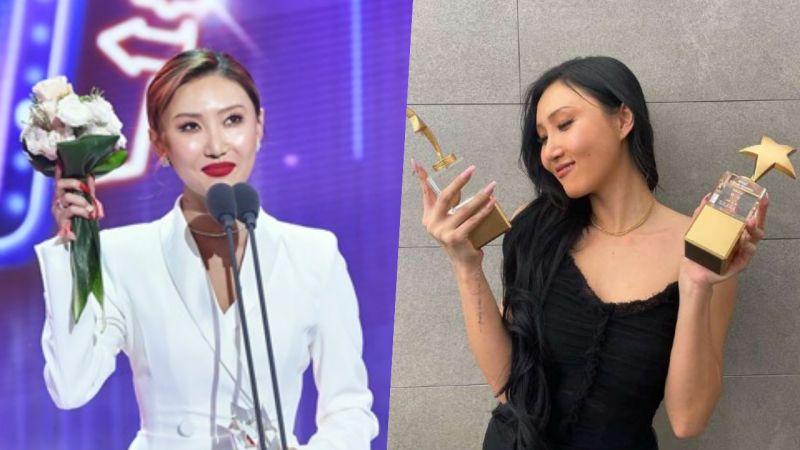 華莎連續3年獲得MBC演藝大賞頒獎,獎項一年比一年進階!