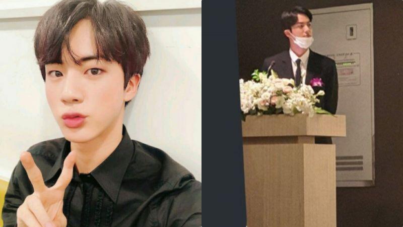 BTS防弹少年团Jin超讲义气!为15年老友的婚礼担任司仪