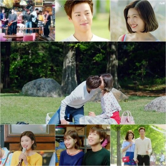 《她爱上了我的谎》李玹雨&Joy满满幸福的草地野餐约会