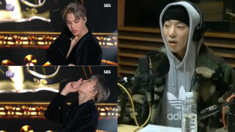 WINNER姜升润谈看到EXO Kai《SBS歌谣大战》独舞的现实反应...真的直接尖叫了!
