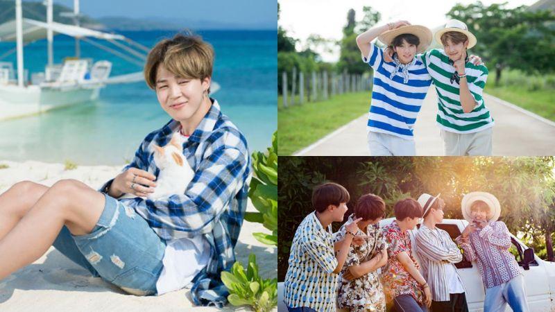 BTS防彈少年團「夏季少年寫真」曝光啦~!各位親咕們,該換手機桌布囉…