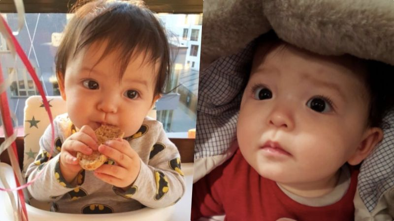 躲過了三胞胎~逃過了「大發」~卻不小心栽在了4歲的娜恩身上啦♥肉嘟嘟嬰兒照大曝光