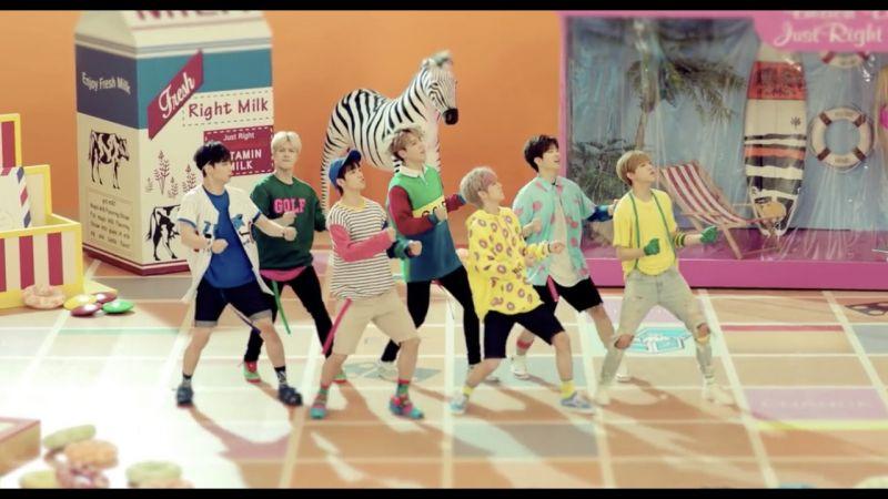 GOT7 躋身「破兩億」偶像之列 〈Just Right〉MV 率先破紀錄啦!