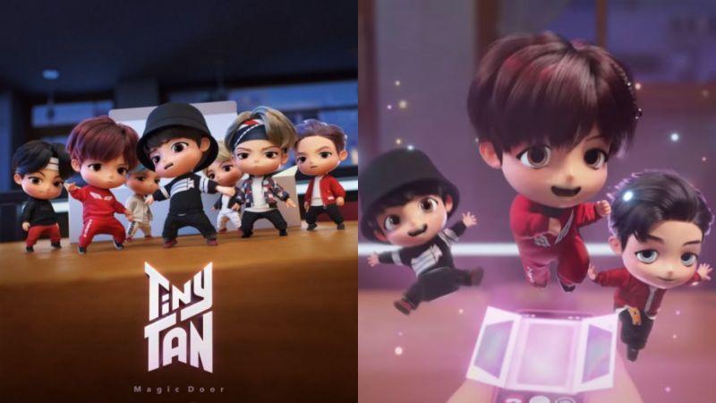 【有片】防彈少年團BTS虚拟角色「TinyTAN」正式推出!超可愛形象萌翻歌迷