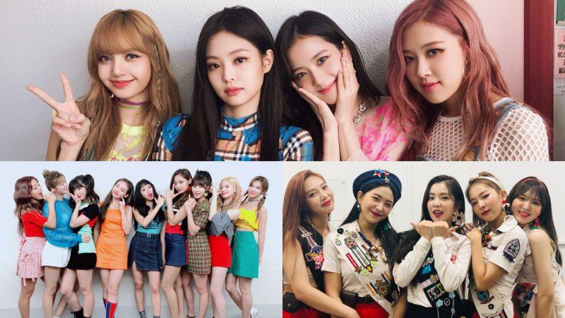 【女团品牌评价】BLACKPINK、TWICE 蝉联冠亚军 Red Velvet 回归前三名!
